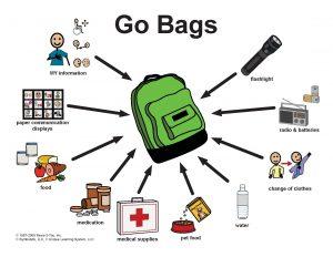 Go Bag for Evacuations